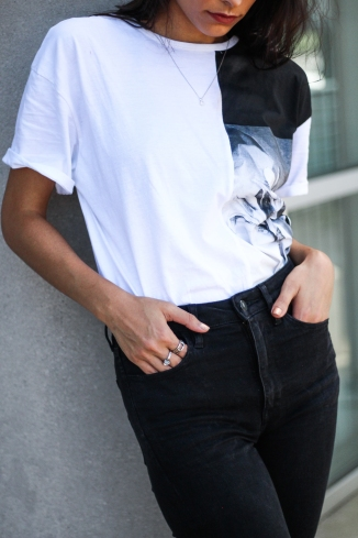 Black Jeans and a Graphic Tee