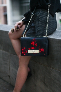 Target Embroidered Purse